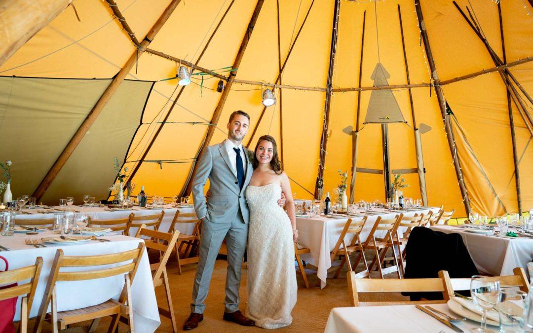 Talton Lodge & Talton House: Tipi Wedding Photographs